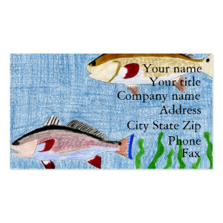 Winning art by  T. Locklear - Grade 9 Business Card