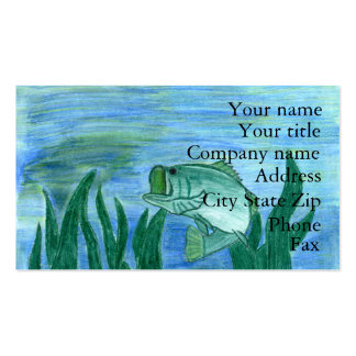 Winning art by  W. Gongaware - Grade 9 Business Card
