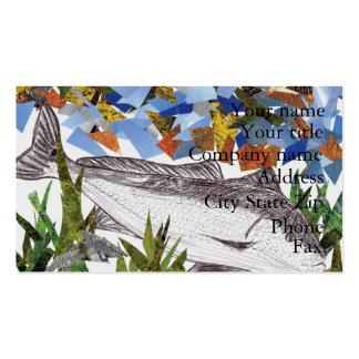 Winning artwork by A. Bryan, Grade 8 Business Card