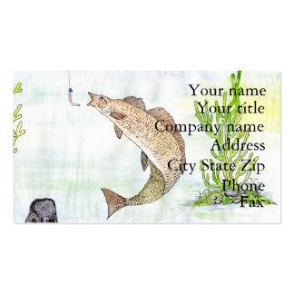 Winning artwork by A. Tahira, Grade 10 Business Card Template
