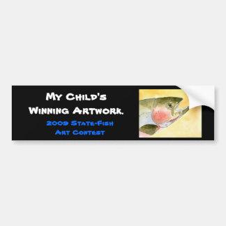 Winning artwork by C. Collingsworth, Grade 5 Bumper Sticker