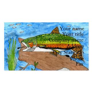 Winning artwork by C. Freshour, Grade 6 Business Card