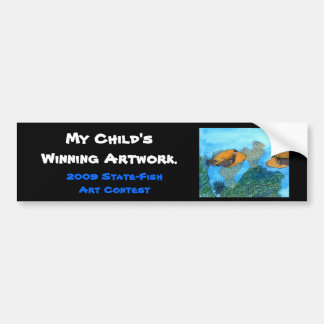 Winning artwork by C. Kaaikaula, Grade 8 Bumper Sticker