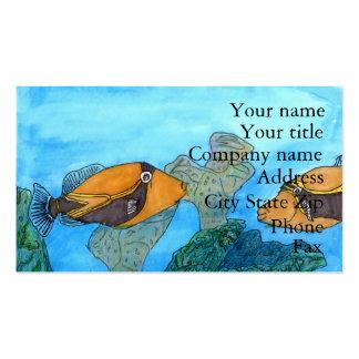 Winning artwork by C. Kaaikaula, Grade 8 Business Card