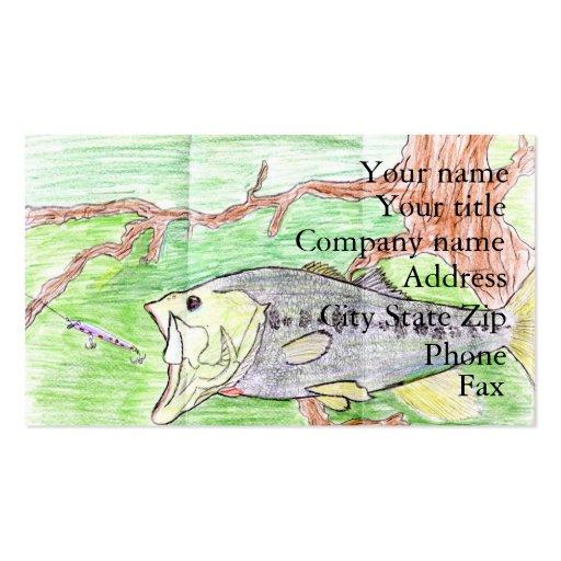 Winning artwork by C. Spencer, Grade 7 Business Card Templates