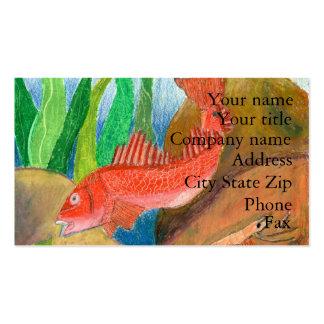 Winning artwork by D. Gutierrez, Grade 8 Business Card