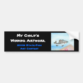 Winning artwork by E. Saliga, Grade 5 Bumper Sticker