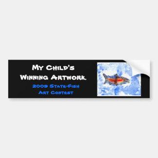 Winning artwork by M. Bekeris, Grade 5 Bumper Sticker