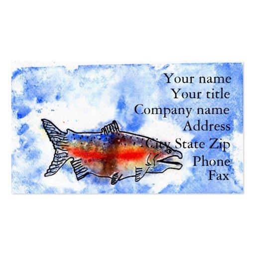Winning artwork by M. Bekeris, Grade 5 Business Cards
