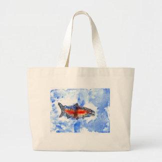 Winning artwork by M. Bekeris, Grade 5 Large Tote Bag