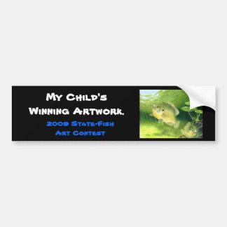 Winning artwork by R. Nelson, Grade 7 Bumper Sticker