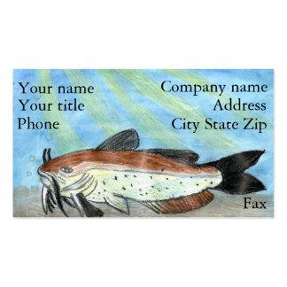 Winning artwork by S. Carter, Grade 6 Business Card Template