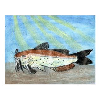 Winning artwork by S. Carter, Grade 6 Postcard