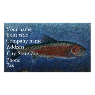 Winning artwork by S. Johnson, Grade 9 Business Card
