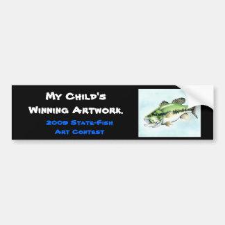 Winning artwork by S. Lynn, Grade 12 Bumper Sticker