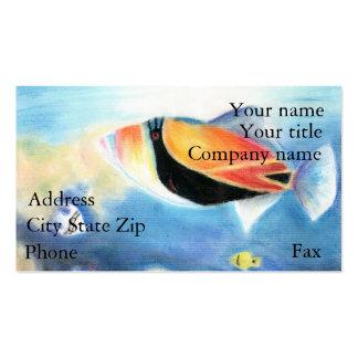 Winning artwork by S. Yang, Grade 12 Business Card