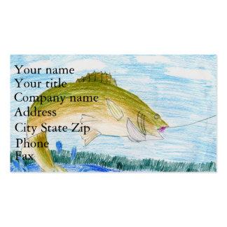Winning artwork by T. Gilbertson, Grade 6 Business Card