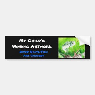 Winning artwork by T. Perkins, Grade 7 Bumper Sticker