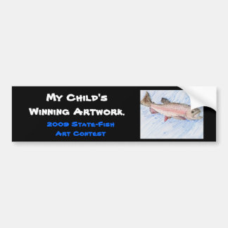 Winning artwork by Y. Kim, Grade 5 Bumper Sticker