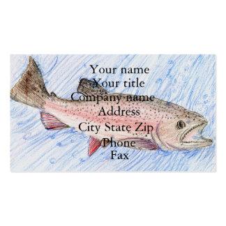 Winning artwork by Y. Kim, Grade 5 Business Card