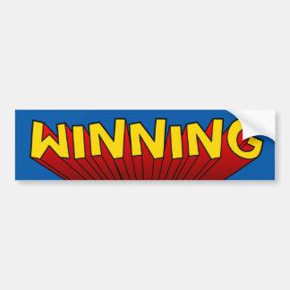 Winning Bumper Sticker