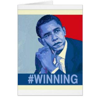 #winning card