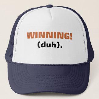 WINNING! (duh). Trucker Hat