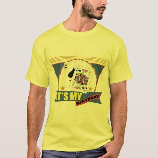 Winning Hand 21st Birthday Gifts T-Shirt