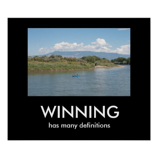 WINNING has many definitions Print