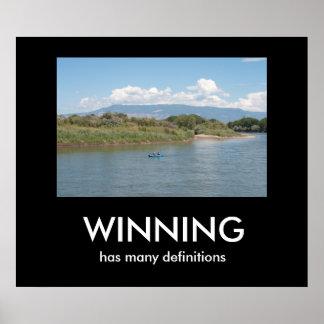 WINNING has many definitions Print