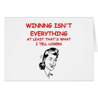 winning joke card