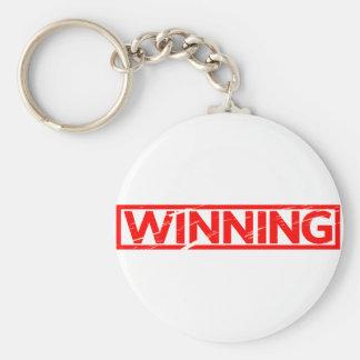 Winning Stamp Keychain