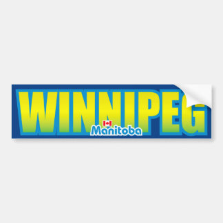 Winnipeg Bumper Bumper Sticker