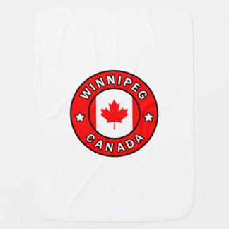Winnipeg Canada Baby Blanket
