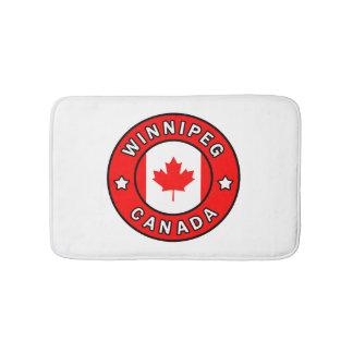 Winnipeg Canada Bath Mat