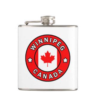 Winnipeg Canada Hip Flask