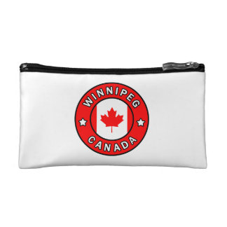 Winnipeg Canada Makeup Bag