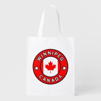 Winnipeg Canada Reusable Grocery Bag