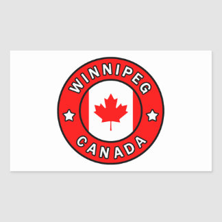 Winnipeg Canada Sticker