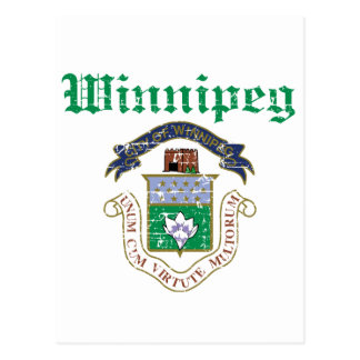 Winnipeg designs postcard