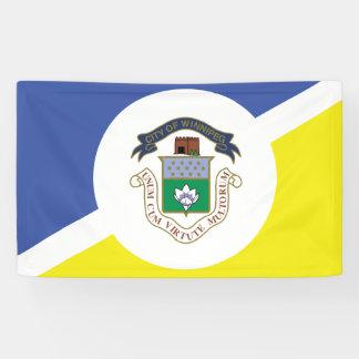WINNIPEG Flag Banner