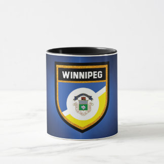 Winnipeg Flag de Mug