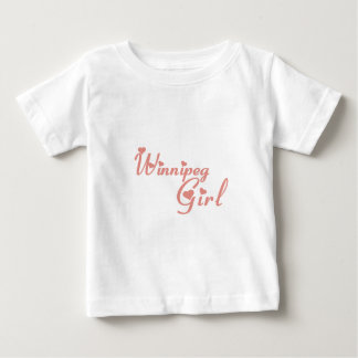 Winnipeg Girl Baby T-Shirt