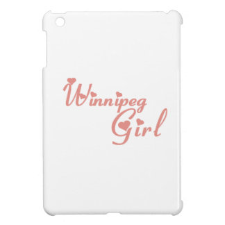 Winnipeg Girl iPad Mini Covers