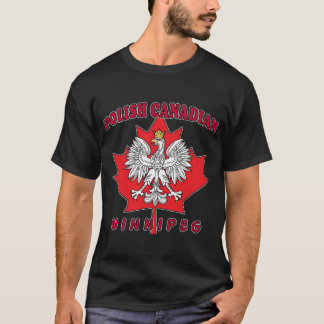 Winnipeg Polish Canadian Leaf T-Shirt