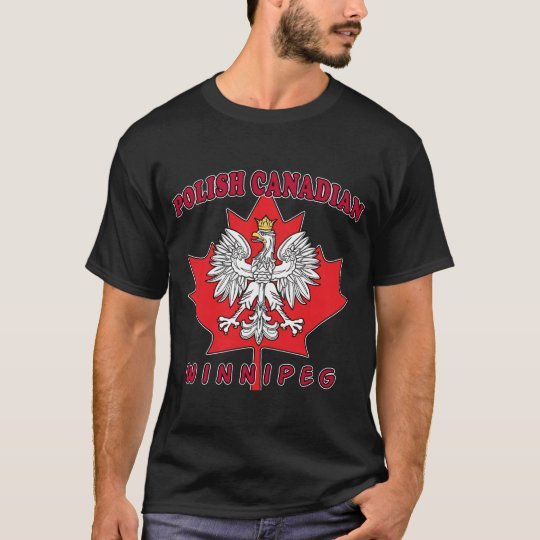 Winnipeg Polish Canadian Leaf T-Shirt