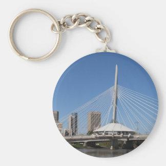 Winnipeg Provencher Bridge Keychain