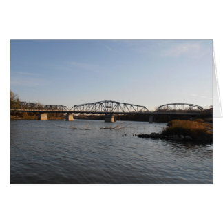 Winnipeg Redwood Bridge Card