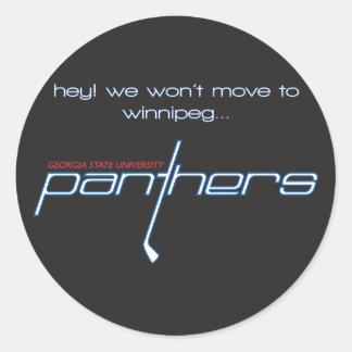 Winnipeg Sticker, 3 inches Classic Round Sticker