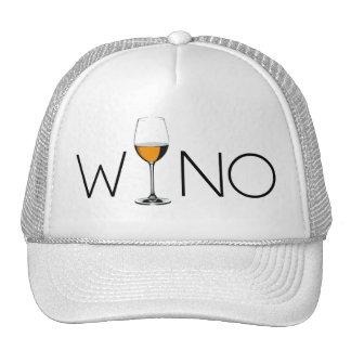 Wino Wine Lover Glass Hat